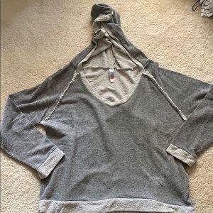 Free People beach sweatshirt